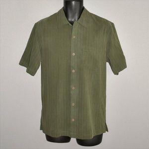 TOMMY BAHAMA Silk Short Sleeve Camp Shirt